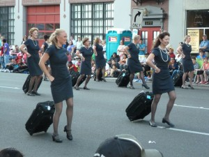 dancing stewardesses 2