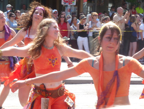 orange flag dancers 3