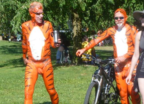 tiger skin nudes